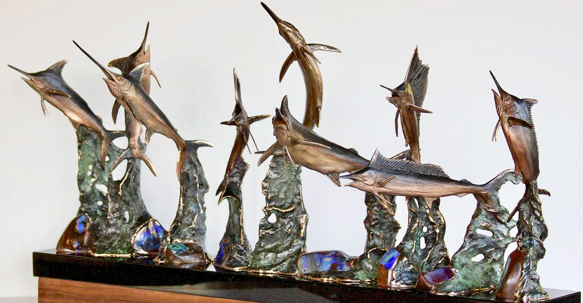 Billfish Royal Slam sculpture